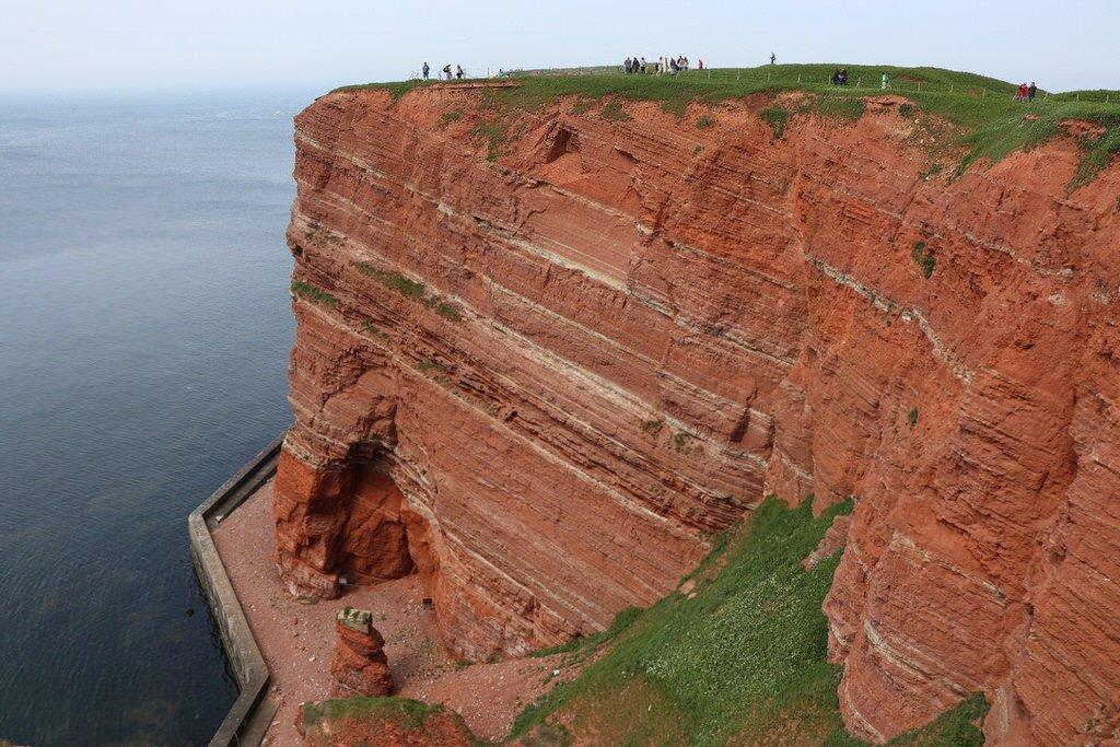 Rote Steilküste von Helgoland