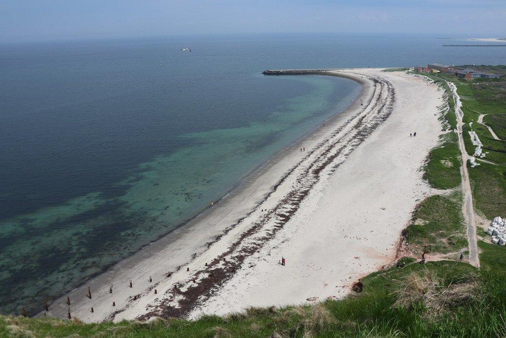 Der Nordstrand von Helgoland