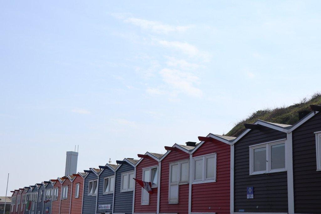 Bunte Häuser auf Helgoland - Teil 2