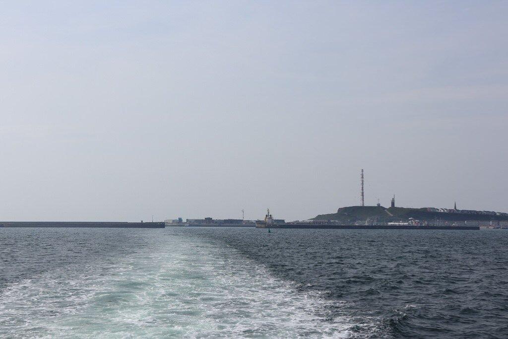 Ein Blick zurück auf Helgoland...