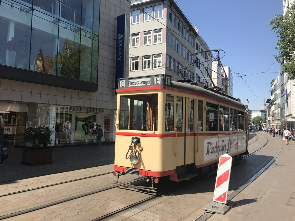 Historische Strassenbahn in Bremen