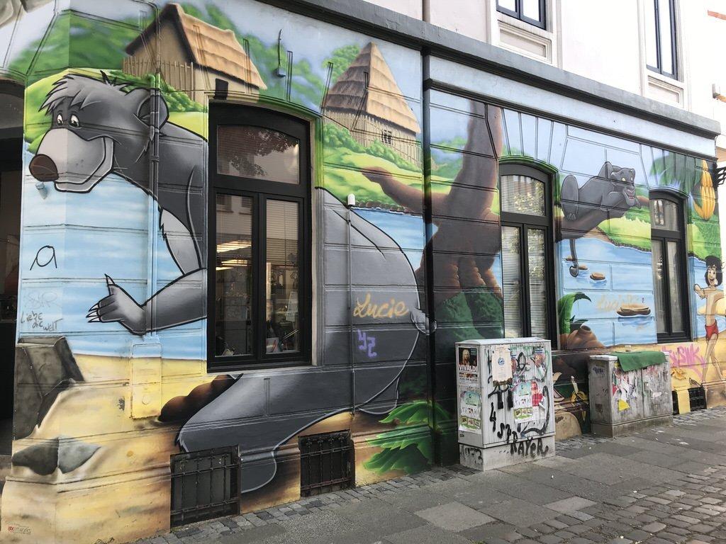 Streetart in Bremen - Ist das Balu?