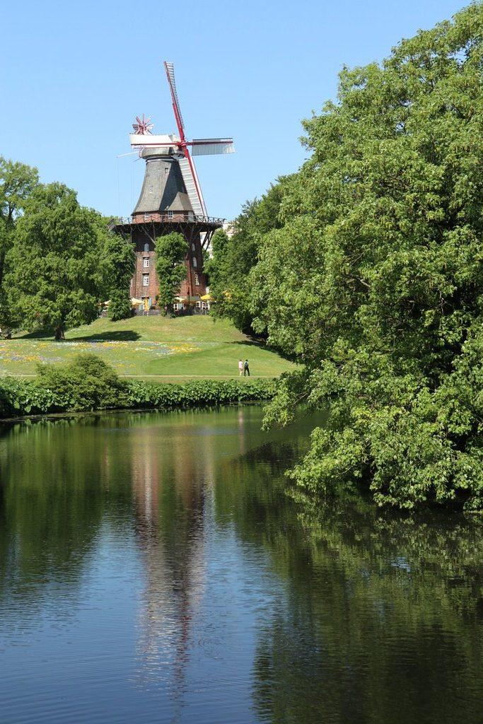 Blick auf die Kaffeemühle (Mühle am Wall Bremen)