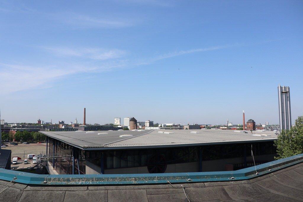 Ausblick vom Dach des Maritim Hotels Bremen