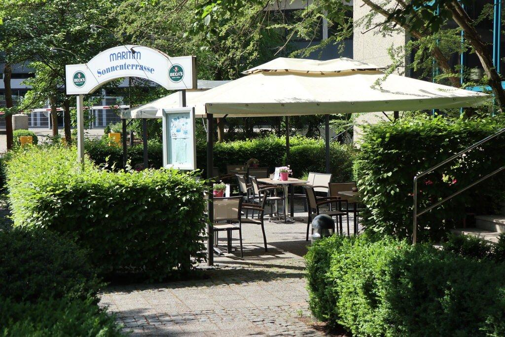 Biergarten am Maritim Hotel Bremen