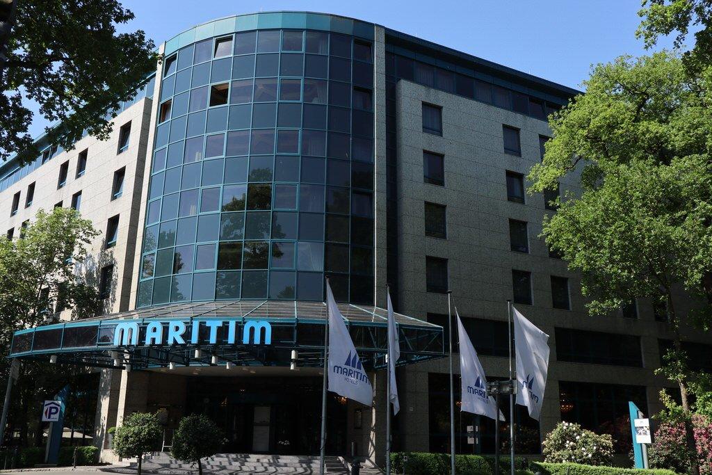 Mein erster Eindruck vom Maritim Hotel Bremen von außen