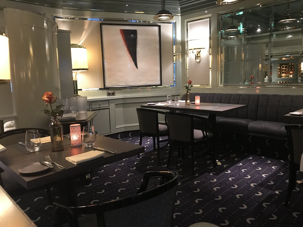 """Ein Blick ins Restaurant """"Bistro Bottaccio"""" im Maritim Airport Hotel Hannover"""