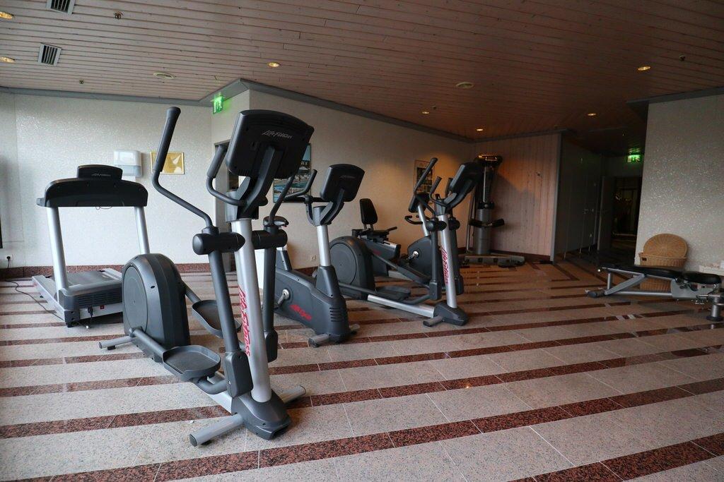 Kleiner Fitnessraum im Maritim Airport Hotel Hannover