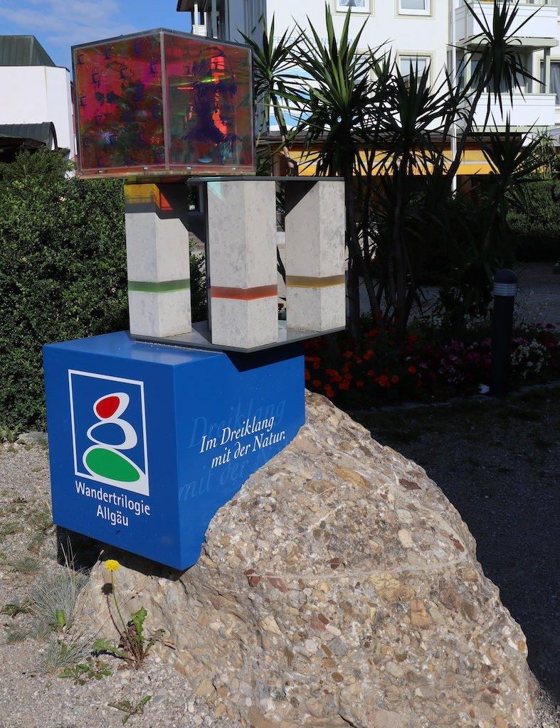 Start- und Willkommensplatz auf der Wiesengängerroute in Bad Wörishofen