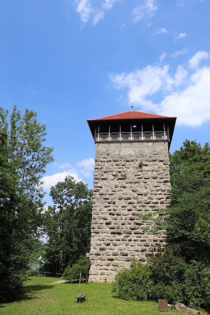 Burg der Burg Kemnat bei Kaufbeuren