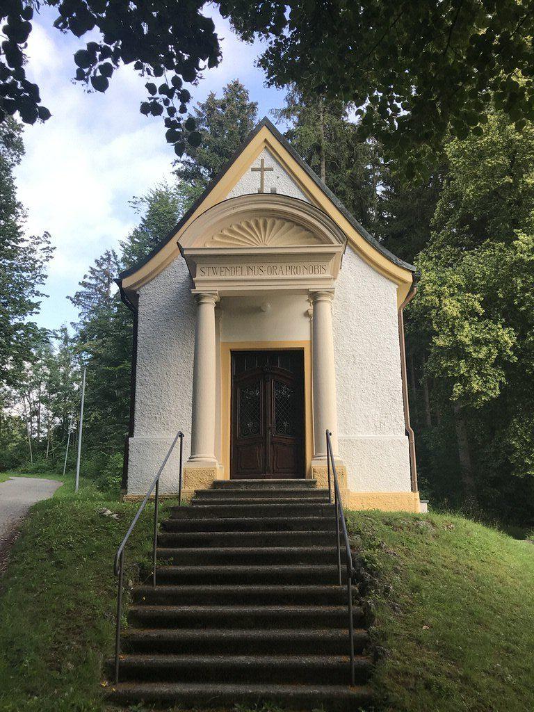 St. -Wendelin-Kapelle oberhalb von Marktoberdorf