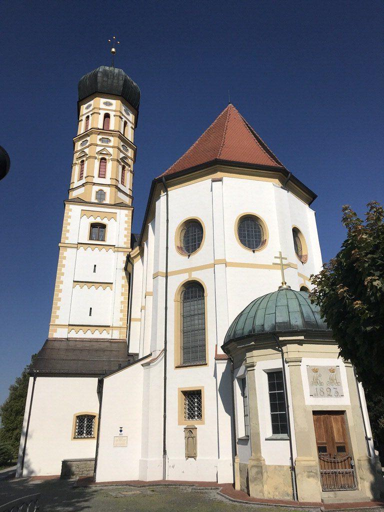 St. Martin Kirche Marktoberdorf - ganz nah ran ...