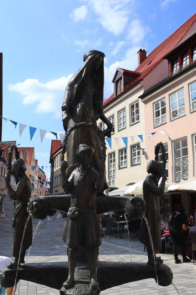 Tänzelfestbrunnen in Kaufbeuren