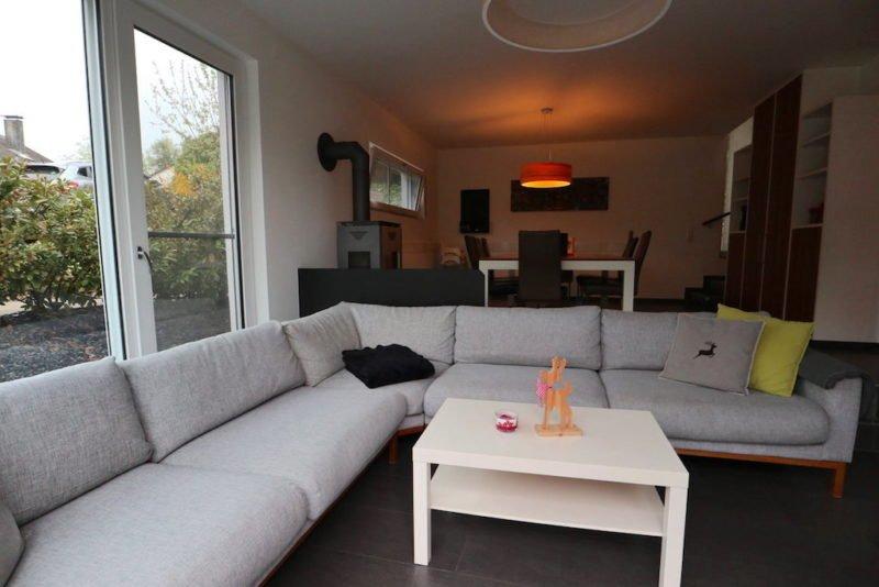 Wohnzimmer unserer Reiseblogger WG im April 2018 im Schwarzwald (Alpirsbach)