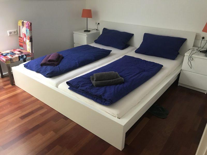 Mein Schlafzimmer im Luxus Ferienhaus Dieboldsberg