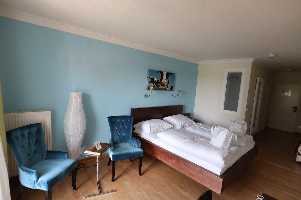 Gesamteindruck meines Doppelzimmers im GUT EDERMANN im Berchtesgadener Land