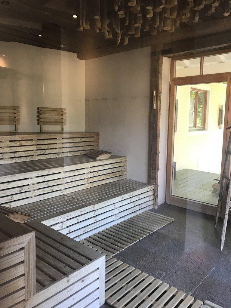Und noch mehr Sauna..