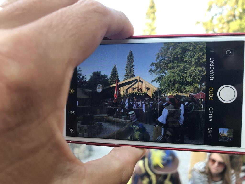 Der erste Eindruck vom Frundsbergfest in Mindelheim 2018