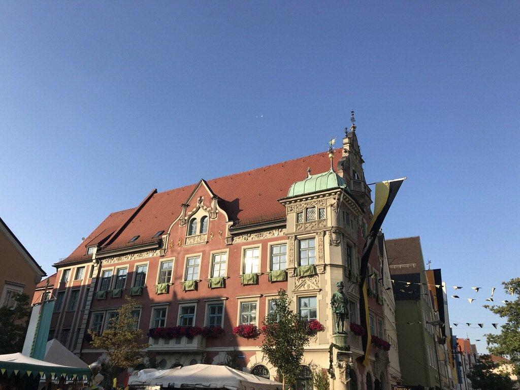 Rathaus von Mindelheim