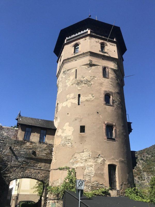 Der nach Carl Haag benannte Haagsturm in Oberwesel