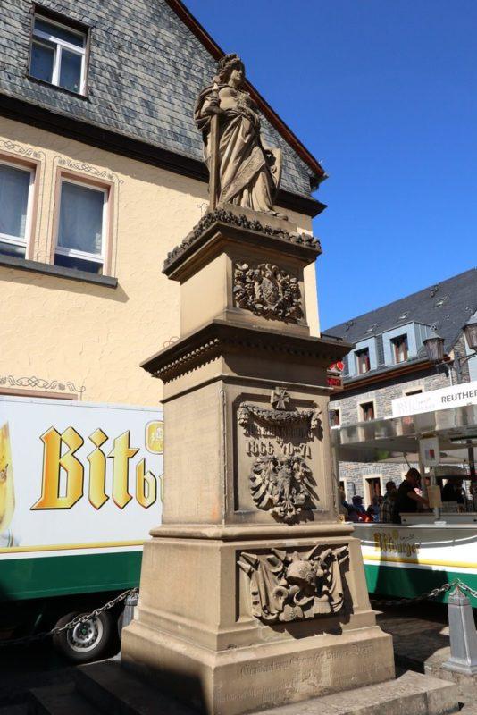 Die Germania in Oberwesel