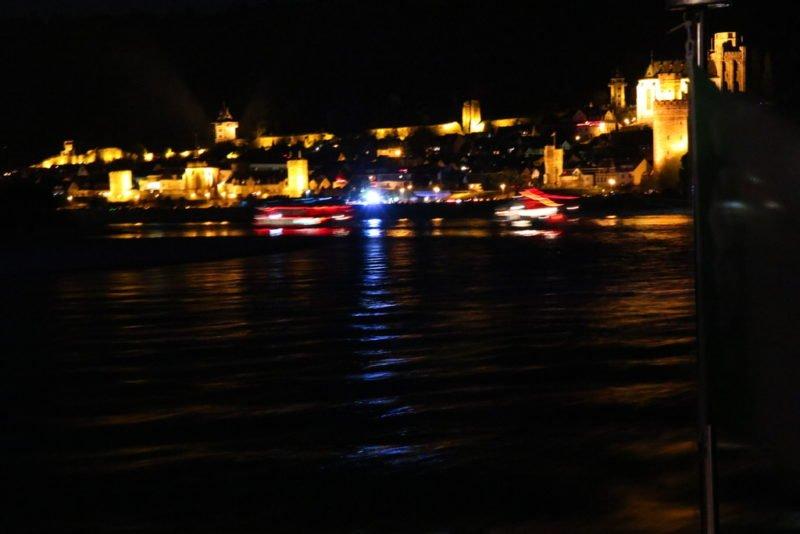 Verzweifelte Versuche, Oberwesel bei Nacht zu fotografieren, Teil 1