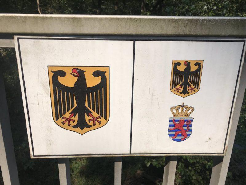 Die interessante Grenze Deutschland - Luxemburg