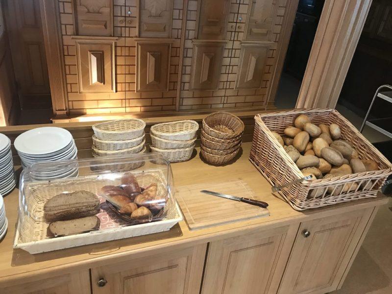 Frühstücksbrötchen im Hotel Haus Hubertus in Winterspelt