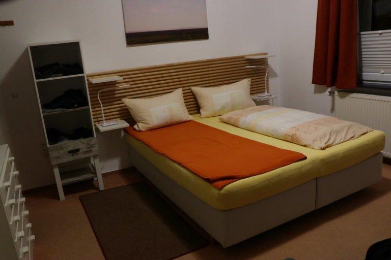 Mein Bett im Haus Sonnenheim Juist