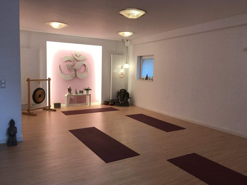 Ein Blick in den Yogaraum Juist