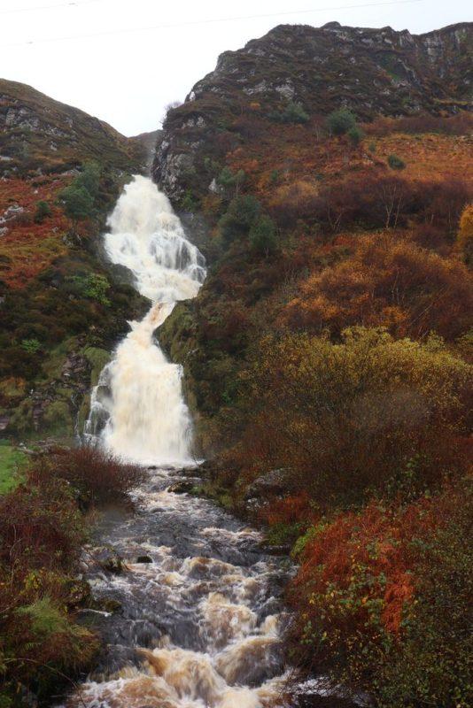 Assaranca Wasserfall bei Ardara