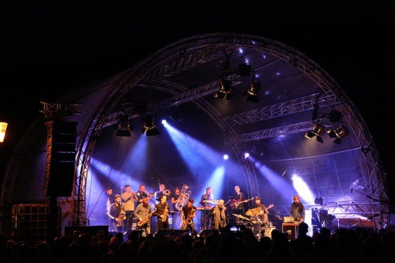 Jazzrausch Bigband Moebius Strip bei Bingen swingt 2018 - was für eine fulminate Show!
