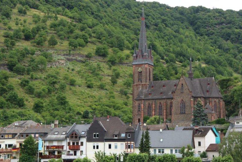 Katholische Kirch Sankt Bonifatius in Lorch