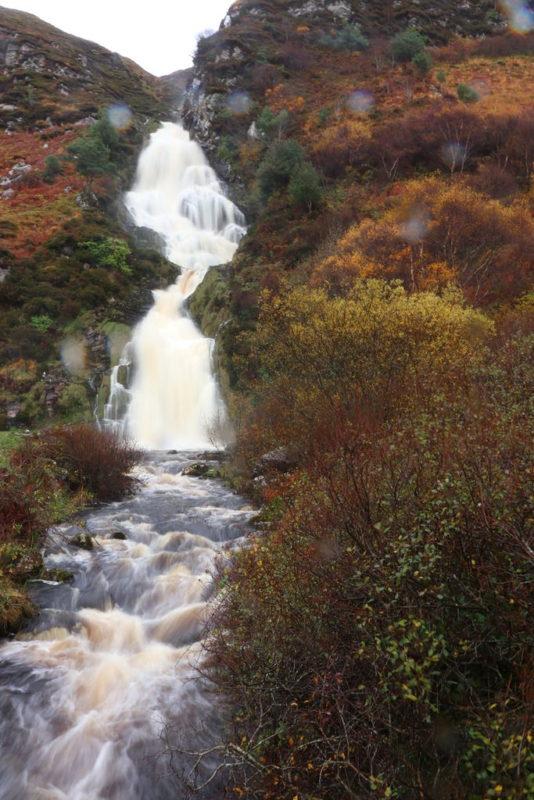 Assaranca Waterfall etwas länger belichtet