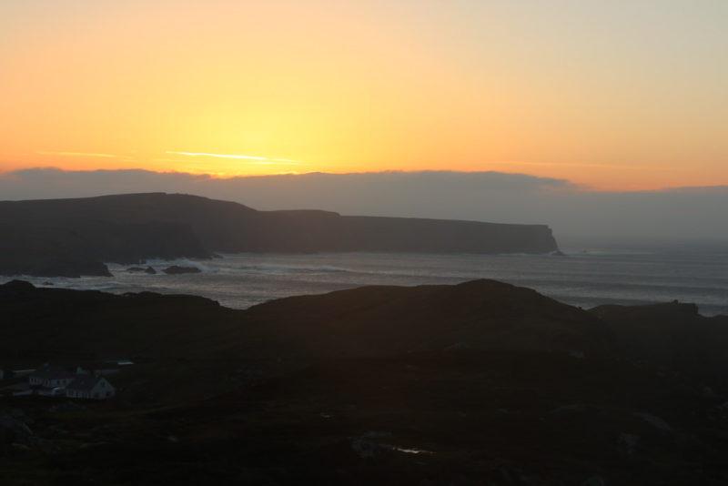 Sonnenuntergang bei Glencolumbkille