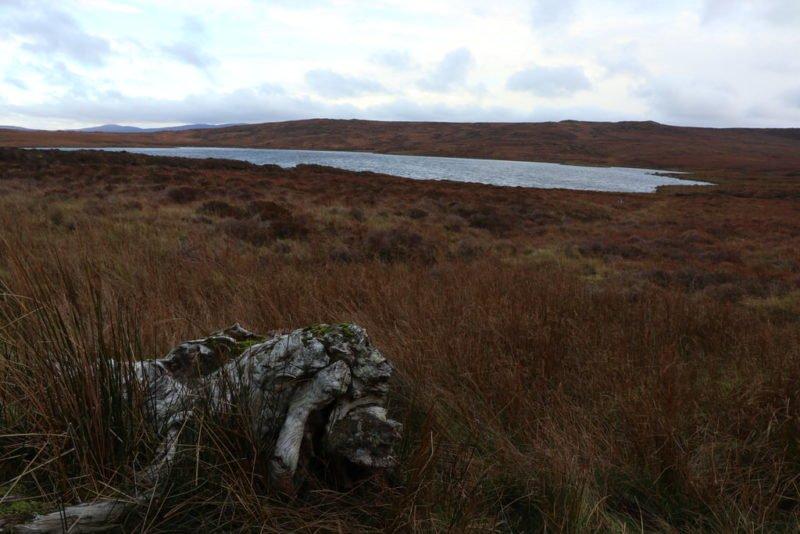 Einer der zahlreichen Seen in der Gegend rund um Glencolumbkille