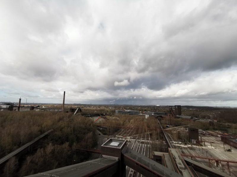 Ausblick von der Panoramaplattform auf dem Ruhr Museum Essen - Teil 1