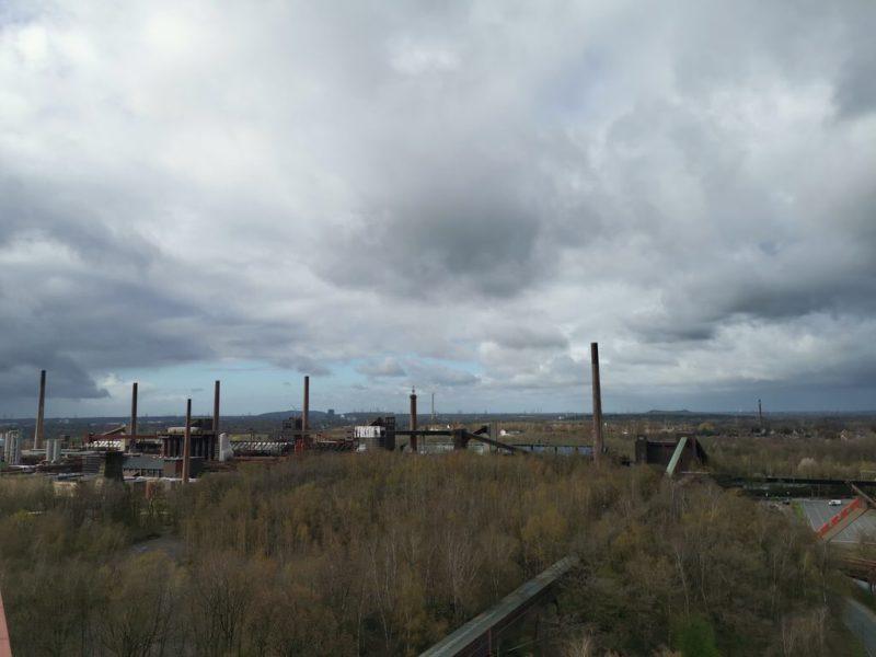 Ausblick von der Panoramaplattform auf dem Ruhr Museum Essen - Teil 2