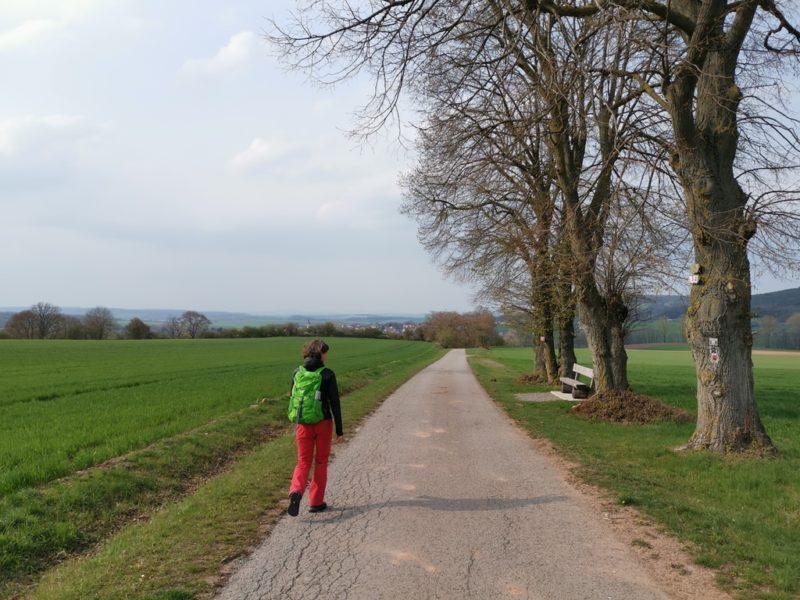 Meine Wegbegleitung Susanne von Haßberge Tourismus