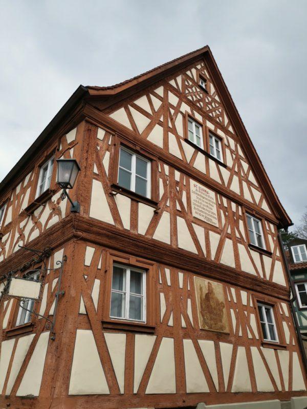 Noch so ein wunderschönes Fachwerkhaus in Zeil auf der Oberen Torstrasse