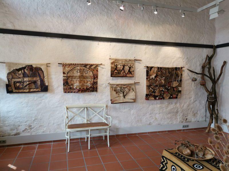 Teppiche aus Simbabwe im Kunsthandwerkerhof Königsberg