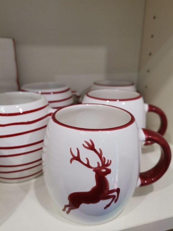 Porzellantassen von Gmundner Porzellan Salzburg - die muss ich mal noch haben, was für eine tolle Form!