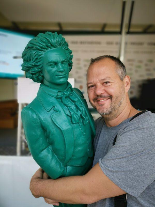 Der gar nicht so grimmige Beethoven und ich in Bonn