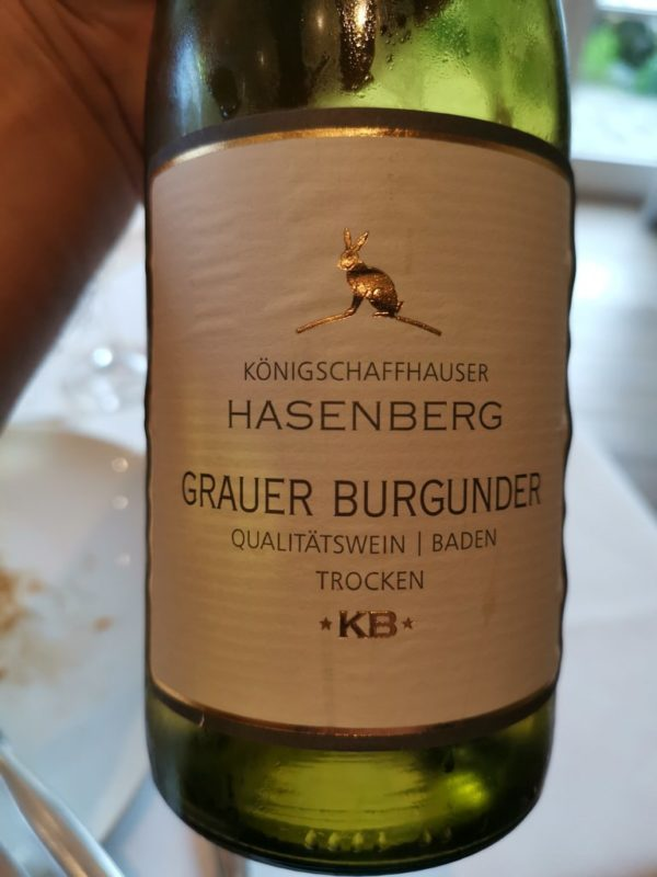 Grauer Burgunder Königschafhausen Hasenberg