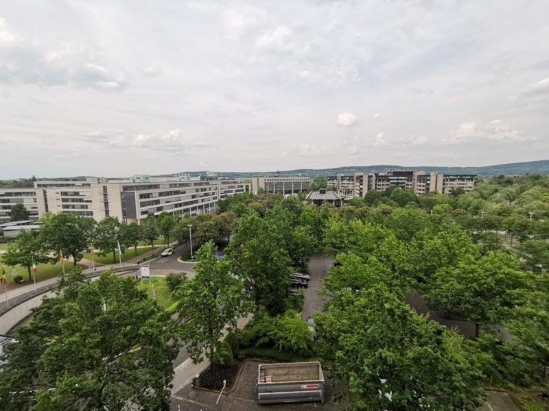 Aussicht vom 6. Stock des Maritim Hotels Bonn