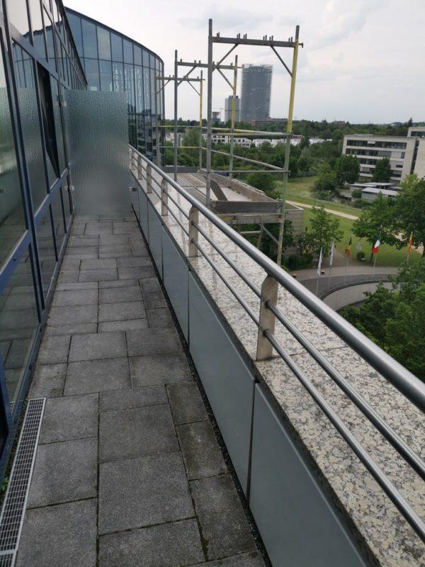 Balkon zur Panorama Suite