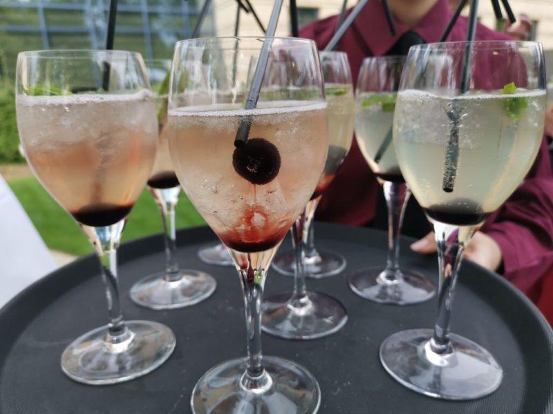 Prosecco Cocktails zur Begrüßung