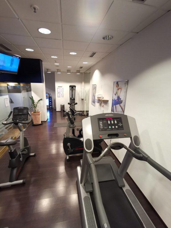 Fitnessraum im Maritim Hotel Bonn