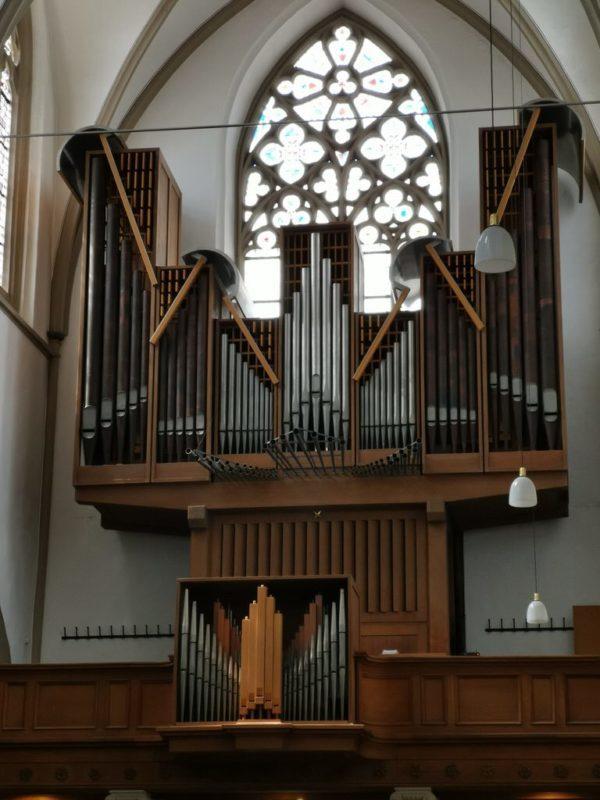 Orgel in der St. Remigius Kirche Bonn