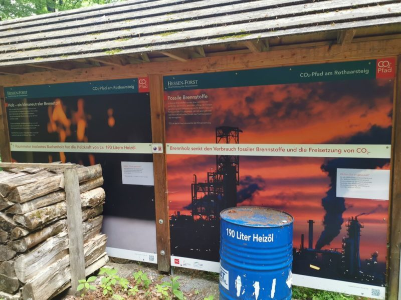 Brennwertvergleich Heizöl - Holz
